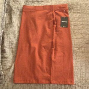 Forever 21 Knee long pencil skirt